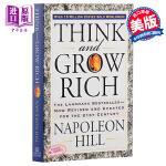 【中商原版】 Think and Grow Rich思考致富 英文原版拿破仑希尔 经典励志 毛边书