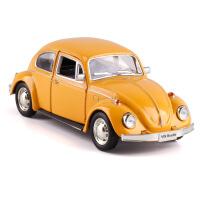 1:36大众1967经典甲壳虫Beetle合金小汽车模型玩具跑车