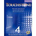 【预订】Touchstone Teacher's Edition 4 with Audio CD