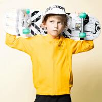 【券后价153】安踏童装儿童外套男童运动上衣春季官网男孩夹克棒球服 A35931704
