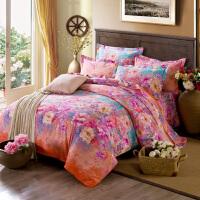 全棉加厚磨毛四件套纯棉床上用品被套床单1.5/1.8/2.0床四件套