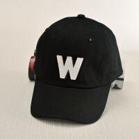 夏季新款韩版字母贴布帽子 男女时尚户外遮阳鸭舌棒球帽 可调节