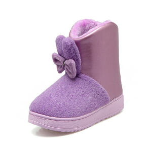 O'SHELL法国欧希尔新品冬季113-X-3207韩版磨砂绒面+超纤皮平跟女士雪地靴