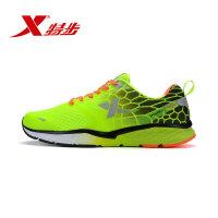 特步男鞋秋季网面透气智能运动鞋跑步鞋慢跑鞋