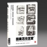 2018鼓励教学 国美石膏五官 蒋铭科五官素描基础表现入门 高艺联考美术书