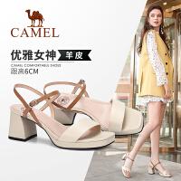camel骆驼2019夏季新款 优雅迷人 魅力出众 凉鞋女