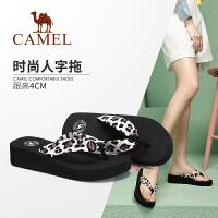 camel骆驼女鞋2019新款夏季平底凉拖女网红拖鞋女外穿时尚百搭��拖鞋女