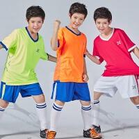 足球服套装男女定制幼儿园儿童足球衣比赛训练组队服两侧口袋