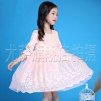 童装女童春装2016新款公主裙儿童连衣裙春秋款长袖+大童女装裙子
