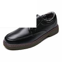 男士休闲鞋英伦风透气男鞋子系带皮鞋青春潮男鞋单鞋
