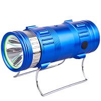 蓝光钓鱼夜光钓灯1000W超亮强光充电手电筒氙气大功率紫光台钓灯