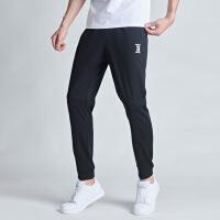 【限时单品直降】361运动裤男士2019新款透气束脚运动长裤针织休闲裤子男