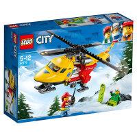 【当当自营】LEGO乐高积木城市组City系列60179 急救直升机