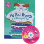 The Real Princess: A Mathemagical Tale 英文原版绘本 真正的公主 附CD Bar