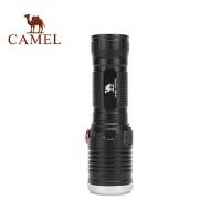 骆驼户外强光手电筒可充电强光远射户外夜间骑行露营家用应急灯