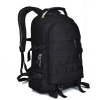吃鸡三级包战术背包登山包双肩包潮男迷彩书包帆布户外背包旅行包 约40L