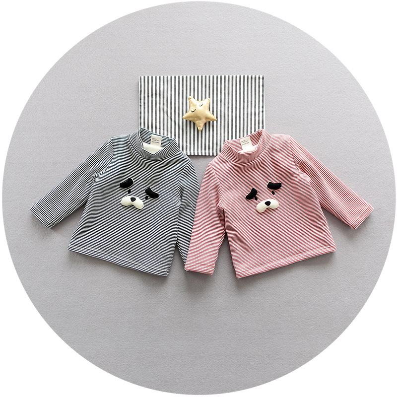 20180505033059984婴儿加绒上衣宝宝冬季T恤保暖内衣新生儿打底绒衫0-1岁3-6-9个月 发货周期:一般在付款后2-90天左右发货,具体发货时间请以与客服协商的时间为准