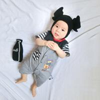 婴儿连体衣宝宝新生儿季外出服潮款外出服8婴幼儿5新年