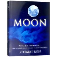 Moon 月球 英文原版童书 精装 科普艺术读物 英文版原版 正版进口英语书现货 全彩插图 Stewart Ross