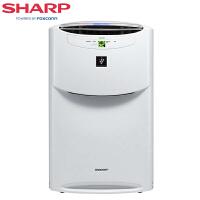夏普(SHARP)空气净化器 家用商用除雾霾除PM2.5除甲醛加湿型消毒机大面积氧吧 KI-BC608-W