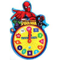蜘蛛侠造型时钟:超级英雄就是我!