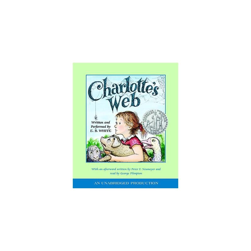 【预订】Charlotte's Web Three CD只是光盘 预订商品,需要1-3个月发货,非质量问题不接受退换货。