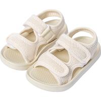 夏季儿童凉鞋男软底防滑女童男童小童宝宝小公主沙滩鞋子
