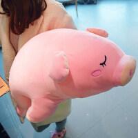 猪娃娃小玩偶女生大号趴趴毛绒公仔女孩抱着睡觉抱枕玩具可爱懒人