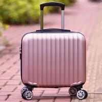 18寸小行李箱女迷你万向轮密码箱登机箱17商务旅行箱小清新拉杆箱 18寸 普通版(无赠品)