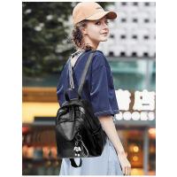 双肩包女 潮韩版百搭时尚软皮女士小背包女学生书包女包包