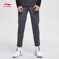 李宁卫裤男士新款韦德系列长裤冬季男装裤子收口针织运动裤AKLN951