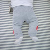 婴儿裤子春装宝宝哈伦裤0岁个月新生儿冬装春款休闲外出裤