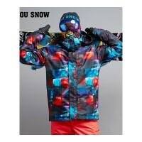 滑雪服男 冬季单双板通用防风保暖防水分体滑雪衣