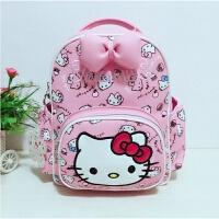 儿童书包幼儿园女童背包卡通凯蒂猫韩版可爱公主双肩包