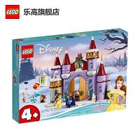 【����自�I】LEGO�犯叻e木 迪士尼公主系列 43180 美女�c野�F��旱亩�季城堡�c典 玩具�Y物