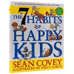 现货正版 The 7 Habits of Happy Kids 英文原版 高效能儿童的七个习惯 英文教材 快乐孩子的7