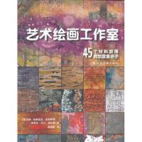 【二手书9成新】艺术绘画工作室---45个材料混搭的创意金点子,(美)麦克罗伊;(美)威尔逊 绘,上海人民美术出版社