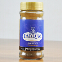 牙买加原装进口 JABLUM蓝山咖啡170g 蓝山 速溶黑咖啡粉 包邮