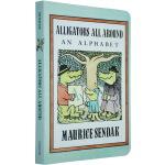英文原版绘本 Alligators All Around 周围的鳄鱼字母纸板书 廖彩杏 名家 Maurice Send