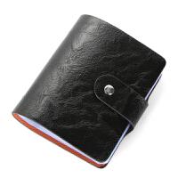 新款男士商务卡包 多卡位大容量名片包 * 银行卡包名片夹