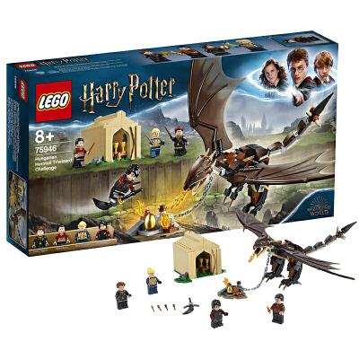 【当当自营】LEGO乐高积木哈利波特系列75946 三强争霸赛之匈牙利树蜂龙 【乐高圣诞倒计时】走进魔法世界,在三强争霸赛中帮忙哈利赢得金蛋!