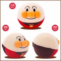 日本儿童面包超人跳跳跳球不倒翁抖音玩具弹力追追追音乐电动震动