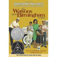 英文原版 The Newbery Honor Books 1996: The Watsons Go to Birmingham: 1963    沃森一家去伯明翰 1996年纽伯瑞银奖小说