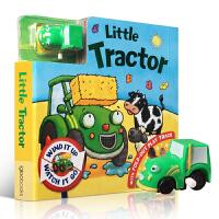 Busy Day Board - Little Tractor 小拖拉机轨道车玩具书 儿童纸板书 3-5-6-8岁宝宝
