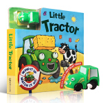 顺丰发货 Busy Day Board - Little Tractor 小拖拉机轨道车玩具书 儿童纸板书 3-5-6
