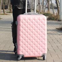 拉杆箱万向轮旅行箱女登机箱学生拉箱密码箱子行李箱包20寸24寸潮 普通版粉色 20寸