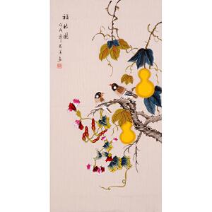 陈芬清《福禄图》