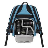 CORESS男女款防盗帆布摄影包双肩户外相机包单反包防盗佳能背