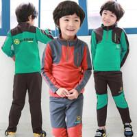 *儿童装男童长袖卫衣套装2018春装休闲衣服4-8岁S