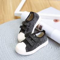 女童板鞋韩版百搭儿童运动鞋女休闲鞋潮学生帆布鞋男童